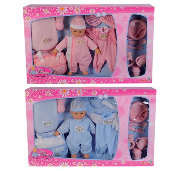 Simba puppen set baby collection puppe zubeh r for Badezimmer 94 spiel