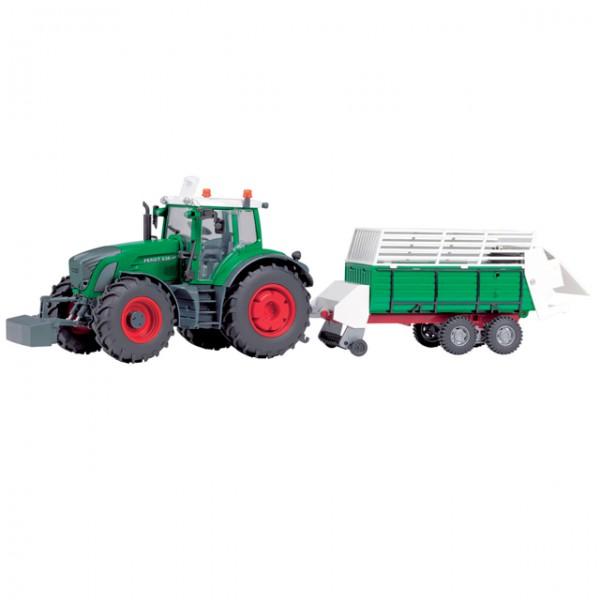 dickie fendt traktor set grubber landmaschine fahrzeug bauernhof spielzeugtrecker anh nger. Black Bedroom Furniture Sets. Home Design Ideas