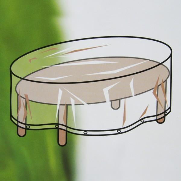 feste schutzh lle gartenm bel abdeckung 250cm oval. Black Bedroom Furniture Sets. Home Design Ideas