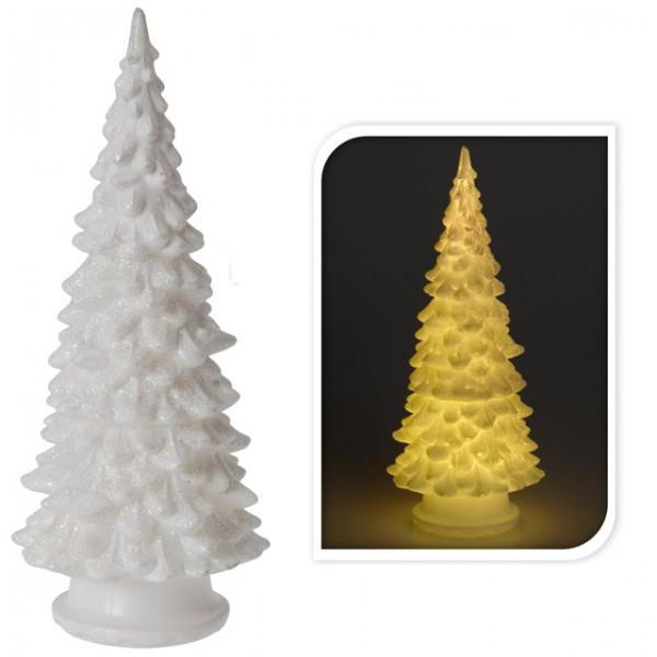 Weihnachtsdeko weihnachten baum glitzer 20cm led leuchte for Weihnachtsdeko baum