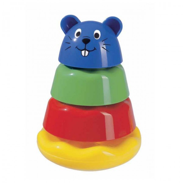 simba abc tierpyramide b r hund katze stapelspielzeug babyspielzeug spielzeug motorik spiele und. Black Bedroom Furniture Sets. Home Design Ideas