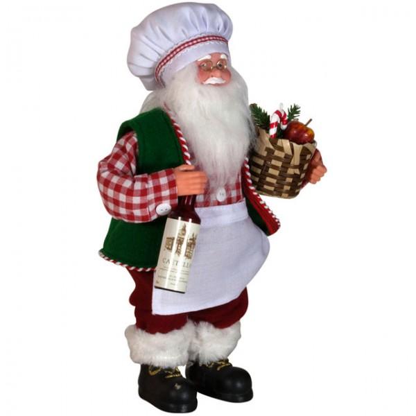 Weihnachtsmann eriko 30 cm figur santa claus nikolaus for Dekoration nikolaus