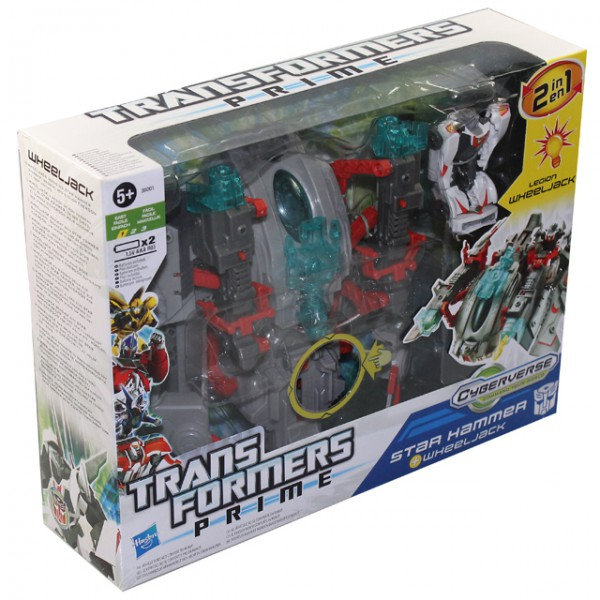 Hasbro transformers prime energon driller star hammer