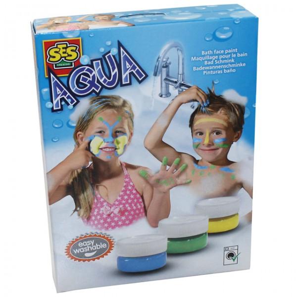ses 13051 aqua fingerschminke bad schminke 3 farben gesicht kinder, Hause ideen