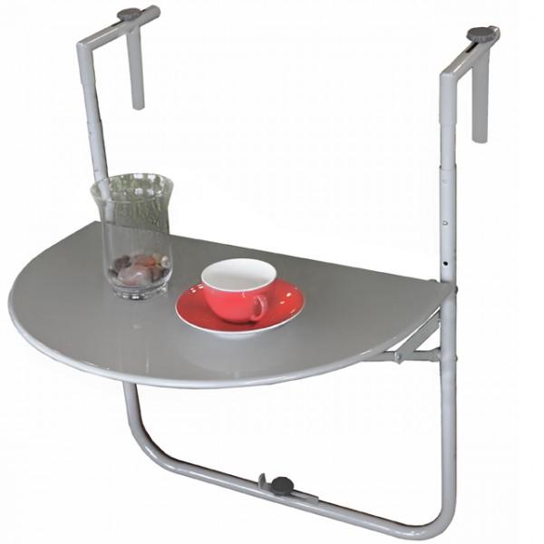 balkon h ngetisch sagar stahl pulverbeschichtet tisch zum. Black Bedroom Furniture Sets. Home Design Ideas