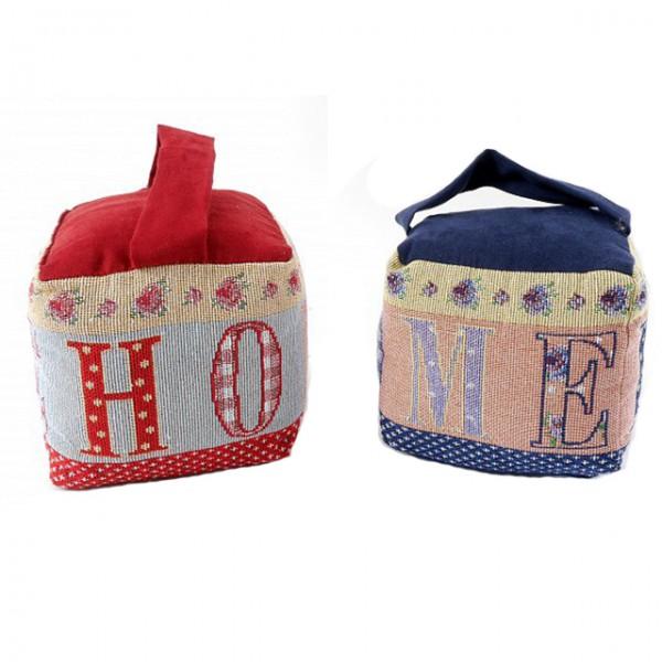 t rstopper home stoff bestickt steinf llung f llung ca 1100g sack polyester t rhalter m bel. Black Bedroom Furniture Sets. Home Design Ideas