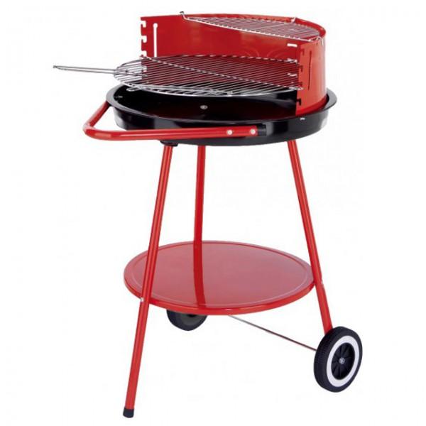 dreibein grill rundgrill dreibeingestell holzkohlgrill 80cm stahl grillen rot warmhalterost haus. Black Bedroom Furniture Sets. Home Design Ideas