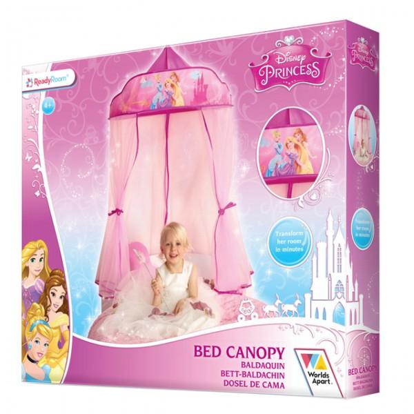 Disney Princess Bed Canopy Betthimmel Baldachin Pink Rosa Kinderbett  Prinzessin Dekoration Moskitonetz