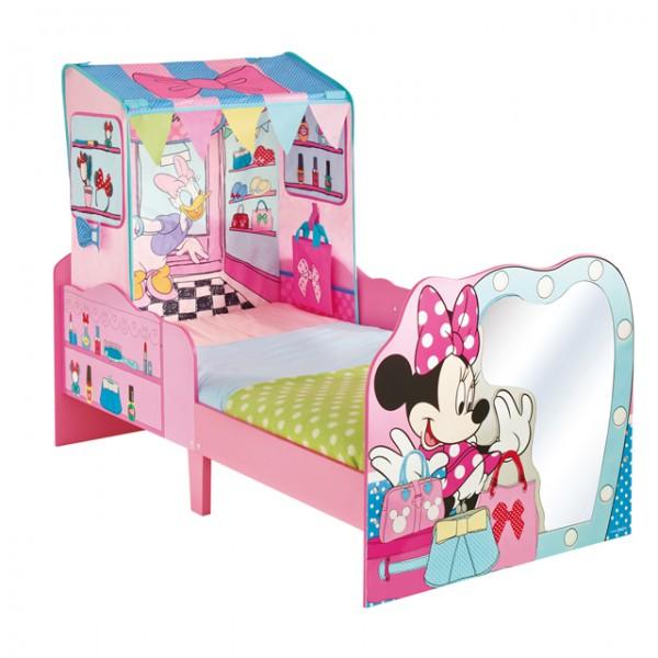 Disney Minnie Mouse Kinder Bett Pink Kinderbett Spielbett