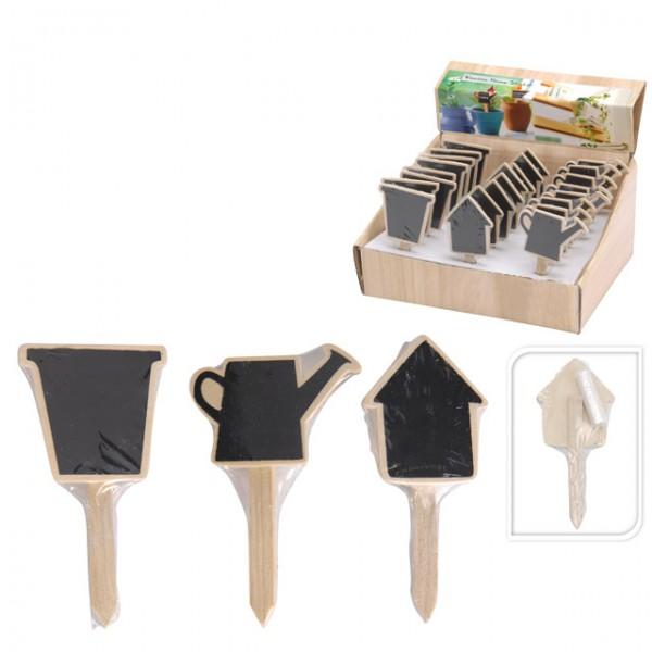 tafel mit kreide pflanzenschilder kr uterstecker pflanzen. Black Bedroom Furniture Sets. Home Design Ideas