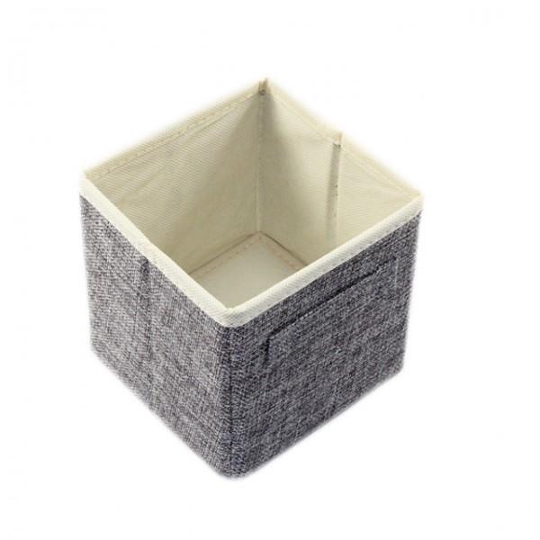 aufbewahrungsbox klein 12x12x13 badezimmer korb kiste box badezimmer wohnzimmer m bel wohnen. Black Bedroom Furniture Sets. Home Design Ideas