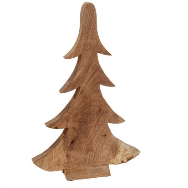 weihnachtsbaum 42cm braun holz holzbaum dekoration fichte. Black Bedroom Furniture Sets. Home Design Ideas