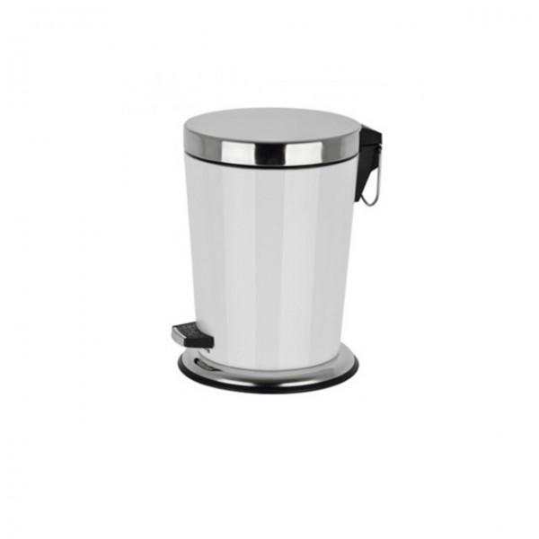 tretm lleimer 5 liter treteimer badezimmer kosmetikeimer abfalleimer rund k che ebay. Black Bedroom Furniture Sets. Home Design Ideas