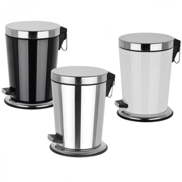 tretm lleimer 5 liter treteimer kosmetikeimer d 21 5 h 29 cm abfalleimer badezimmer k che und. Black Bedroom Furniture Sets. Home Design Ideas
