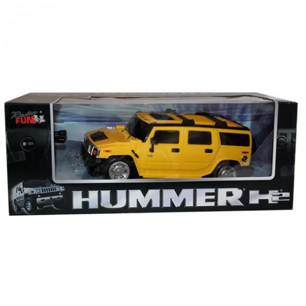 modellauto hummer h2 ferngesteuertes auto rot gelb 1 24 spielzeugauto rc ab 6 jahre spiele und. Black Bedroom Furniture Sets. Home Design Ideas