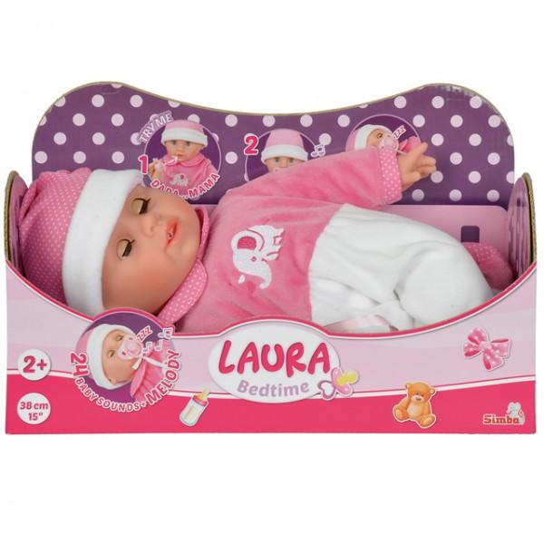 Laura bedtime puppe baby spielzeug mädchen geschenkidee