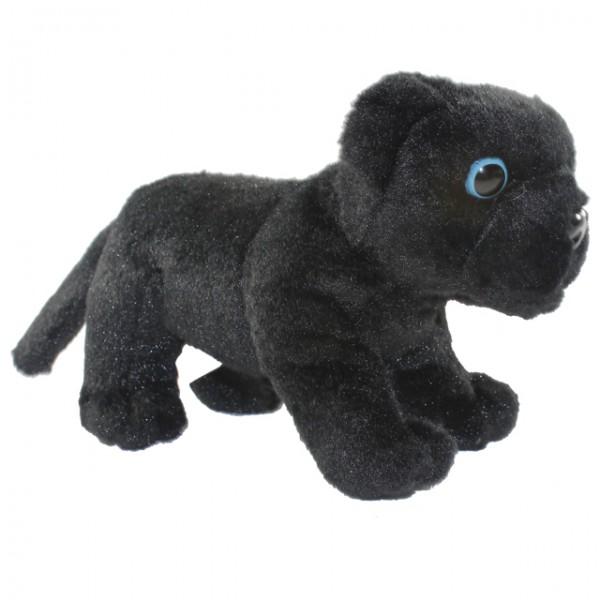 pl schtier tiger 18 cm stehend panther leopard stofftier kuscheltier kinder spiele und spielzeug. Black Bedroom Furniture Sets. Home Design Ideas