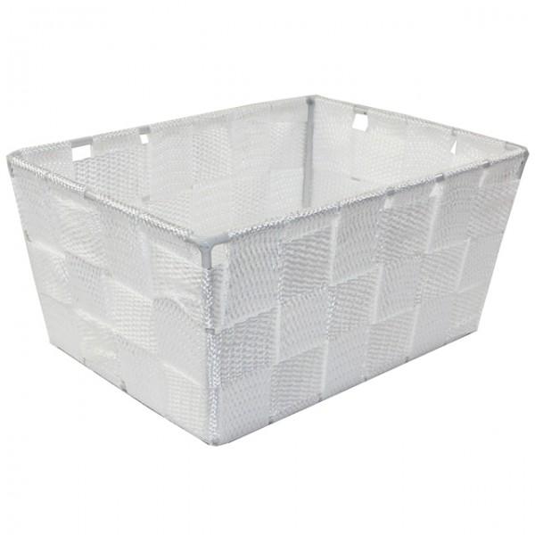 aufbewahrungsbox 18 5x14x9 uni geflochten schwarz wei beige braun korb k rbchen m bel wohnen. Black Bedroom Furniture Sets. Home Design Ideas