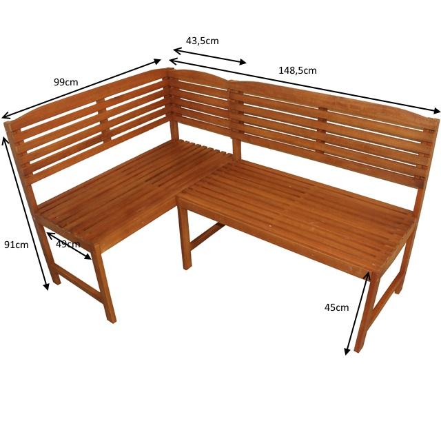 flexible eckbank aruba gartenbank balkonm bel eukalyptus. Black Bedroom Furniture Sets. Home Design Ideas
