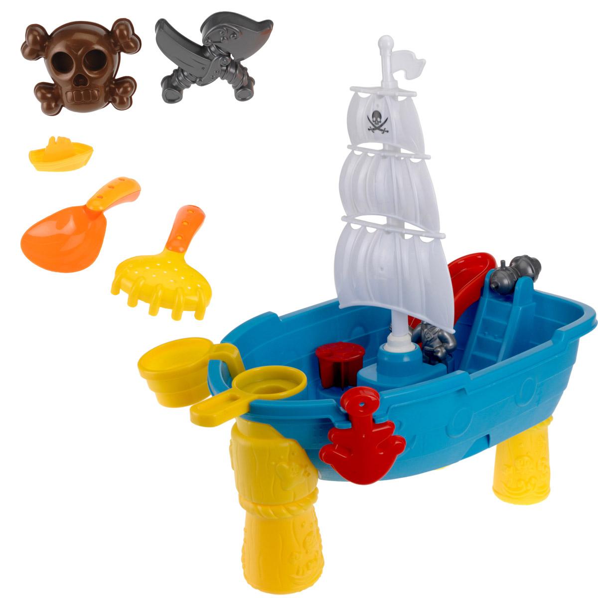 Tlg strandspielzeug wasser piratenschiff strand