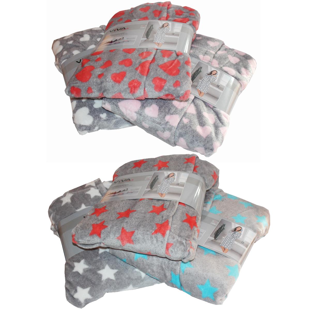 microfaser bademantel mit kapuze sterne herz kurze form s m l xl mantel sauna m bel wohnen und. Black Bedroom Furniture Sets. Home Design Ideas