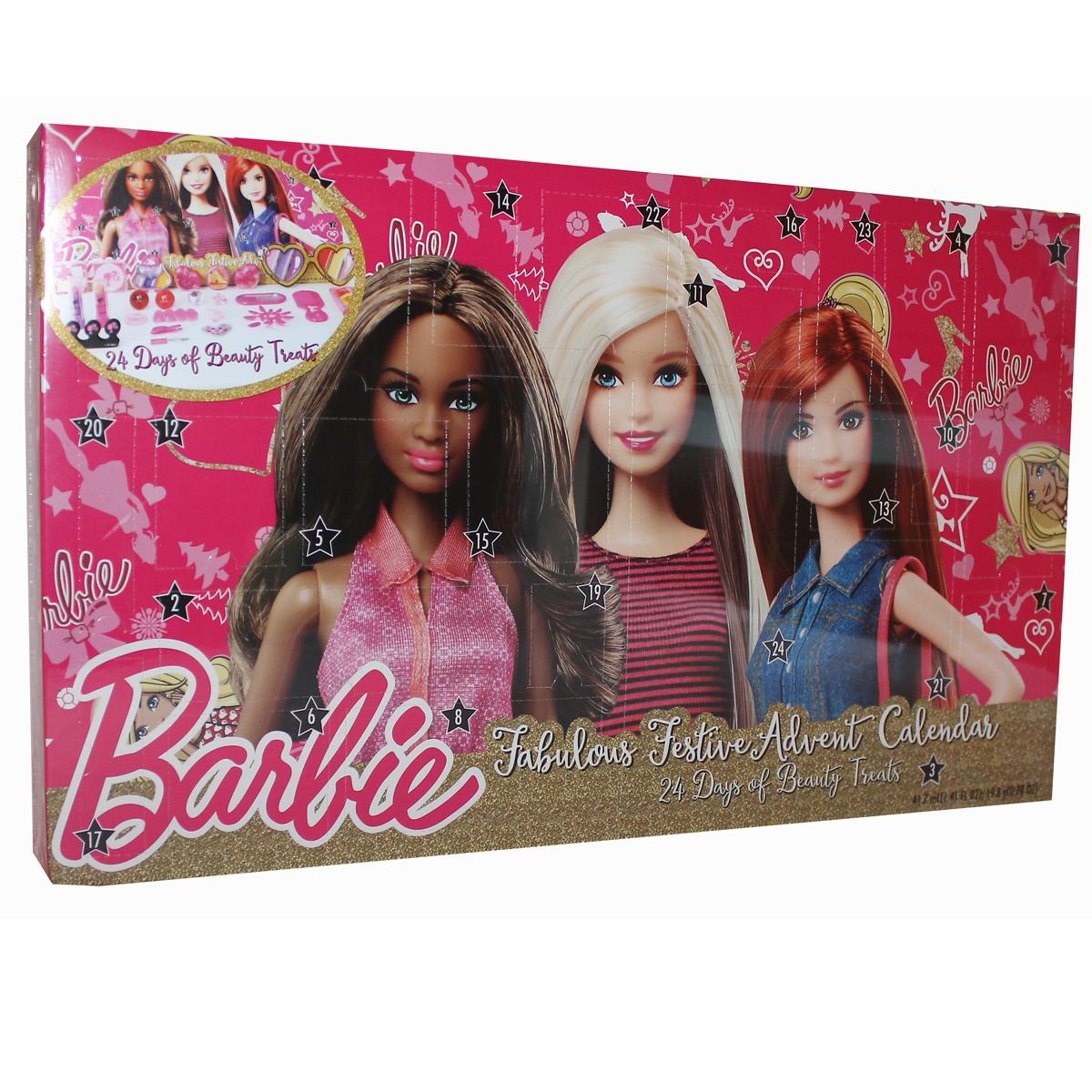 barbie adventskalender 2016 weihnachten kosmetik advent. Black Bedroom Furniture Sets. Home Design Ideas