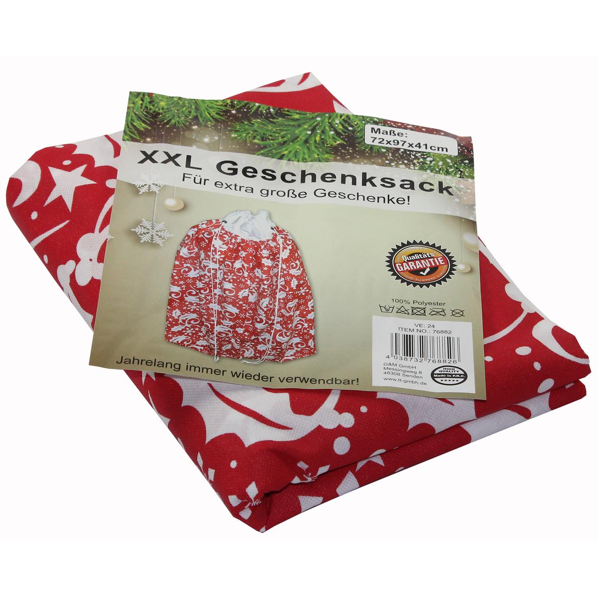 xxl geschenksack 97cm weihnachten nikolaus winter kinder. Black Bedroom Furniture Sets. Home Design Ideas
