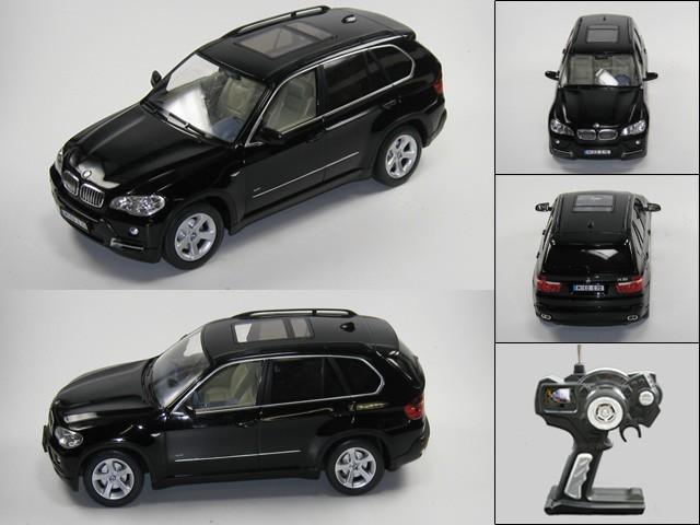 bmw x5 ferngesteuert rc modellauto 1 14 schwarz spiele und. Black Bedroom Furniture Sets. Home Design Ideas
