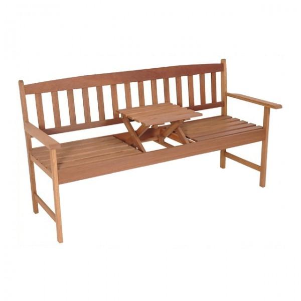 gartenbank mit tisch hartholz 3 sitzer sitzbank bank 150cm gartenm bel haus und garten. Black Bedroom Furniture Sets. Home Design Ideas
