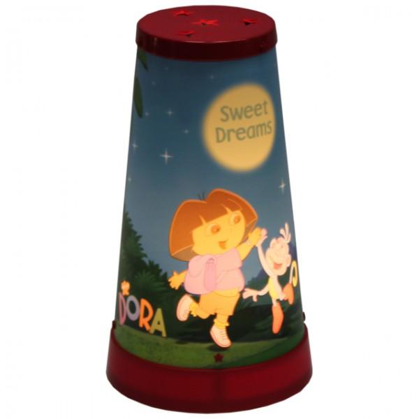 dora kinderlampe tischlampe nachtlicht nachttischlampe. Black Bedroom Furniture Sets. Home Design Ideas
