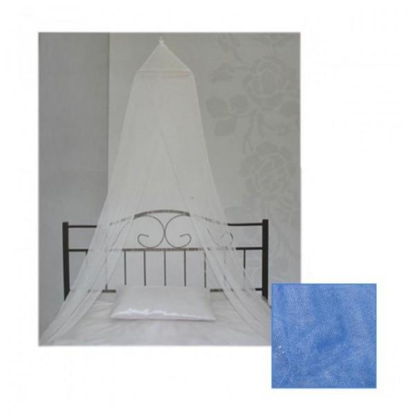 baldachin betthimmel moskitonetz f r einzelbett blau fliegennetz m ckenschutz netz m bel wohnen. Black Bedroom Furniture Sets. Home Design Ideas