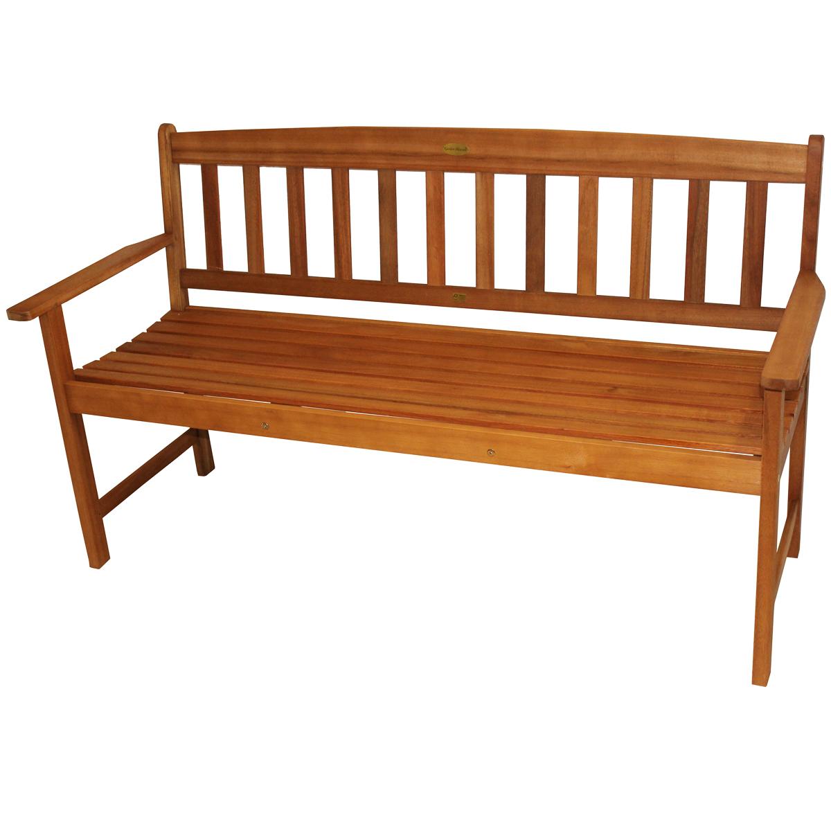 3 sitzer gartenbank 154cm pazifik bank m bel holzbank. Black Bedroom Furniture Sets. Home Design Ideas