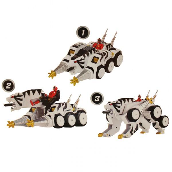 Bandai power rangers tiger tank super samurai ranger