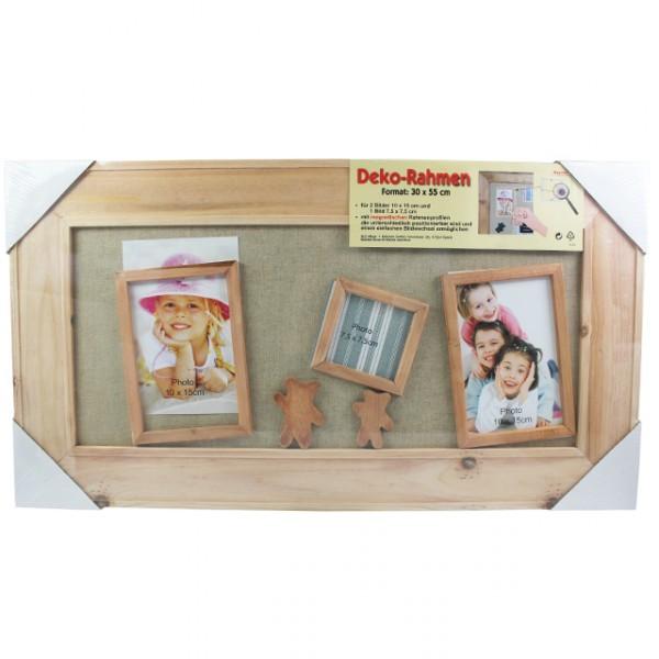 magnetbilderrahmen holz holzbilderrahmen magnet bilderrahmen foto bilder neu ebay. Black Bedroom Furniture Sets. Home Design Ideas