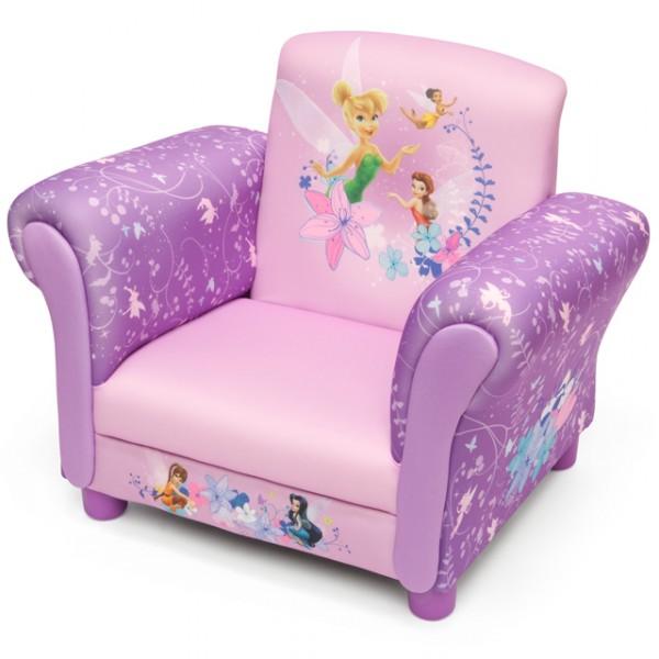 Disney fairies armlehne stuhl mit holz innenteil for Sessel organizer