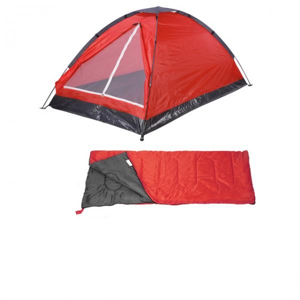 4uniq Zelt : Camping set in personen zelt schlafsack