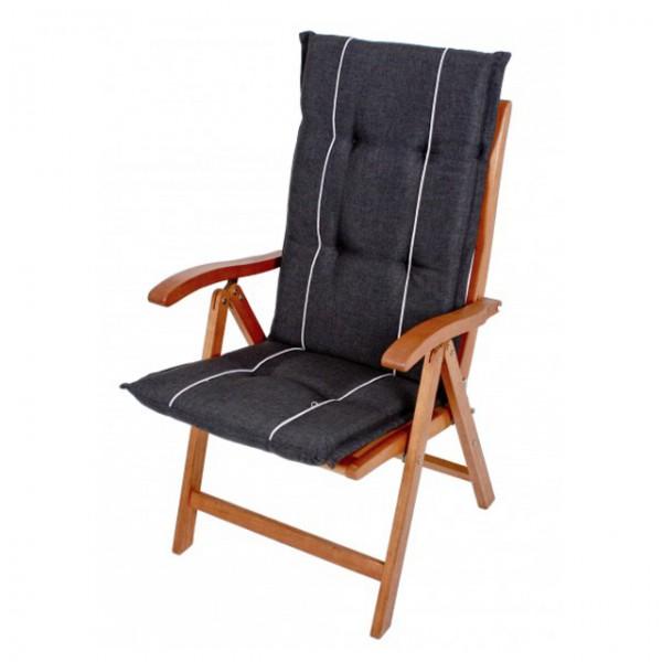 hochlehner auflagen hastings 7cm dick stuhlauflage polster kissen gartenstuhl ebay. Black Bedroom Furniture Sets. Home Design Ideas