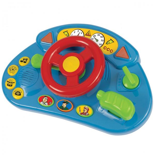simba abc cockpit lenker mit licht und sound ab 12 monate motorik spielzeug baby spiele und. Black Bedroom Furniture Sets. Home Design Ideas