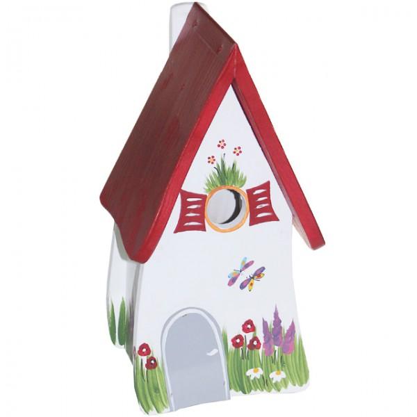 die vogelvilla vogelhaus zum aufh ngen gartenzauber. Black Bedroom Furniture Sets. Home Design Ideas