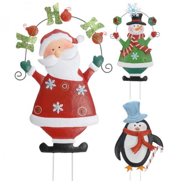 Gartenstecker weihnachten my blog for Deko rost weihnachten