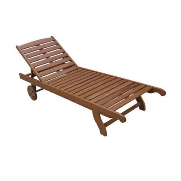 sonnenliege holz vermont sunlounger liegestuhl holz liege garten b ware fundgrube. Black Bedroom Furniture Sets. Home Design Ideas